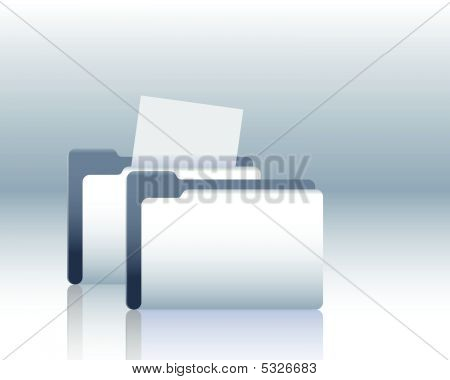 Folder With Documents