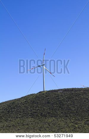 Windturbine In Atacama Region