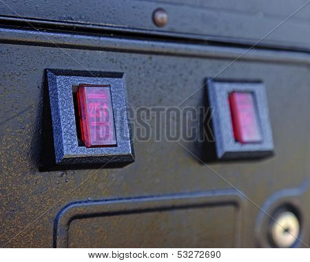 Arcade Coin Slot