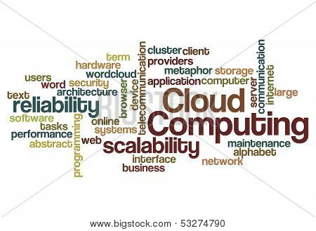 Cloud Computing Scalability Reliability Background