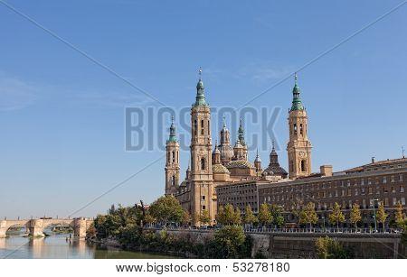 Basilica Del Pilar in Zaragoza
