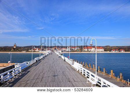Pier In Sopot