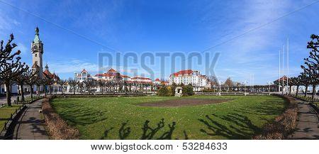 Panoramic View Of Sopot