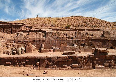 Kalasayaya temple, Tiahuanaco, Bolivia