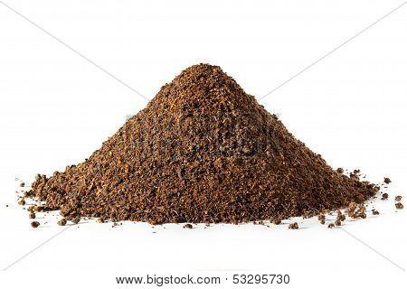 Pile Of Loose Tea Leaves