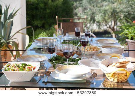 outdoor diner