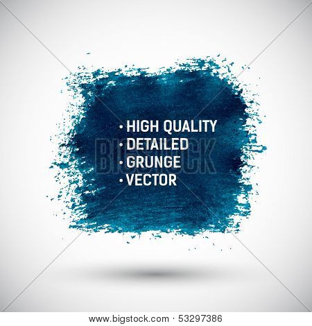 Abstract blue color grunge background