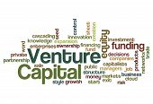 Venture Capital Funding Investor Concept Background