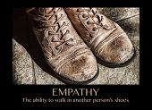 pic of empathy  - Old boots and the word  - JPG