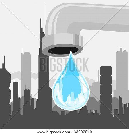 Drop Of City