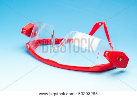 Clear Black Safety Glasses For Professional/patien T (health Equipment To Prevent Cross Infection)