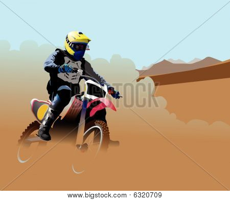 Desert Dirt Bike