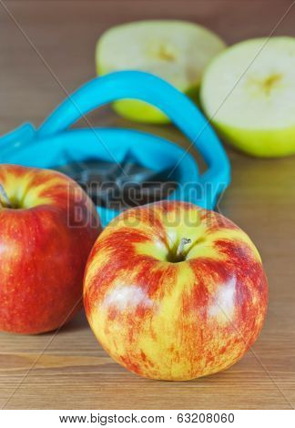 Apples And Slicer