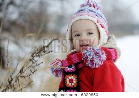 Little Winter Baby Girl