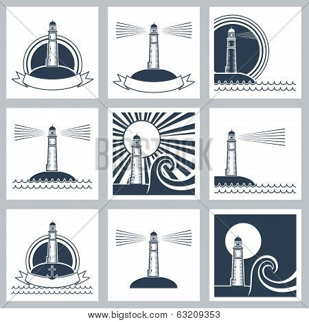 Lighthouse Icons.