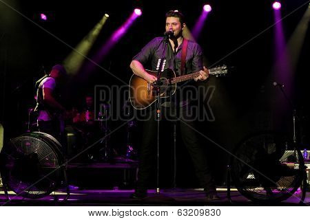 LAS VEGAS-APR 5: Chris Young performs at the 2nd Annual Academy of Country Music (ACM) Party For A Cause Festival -