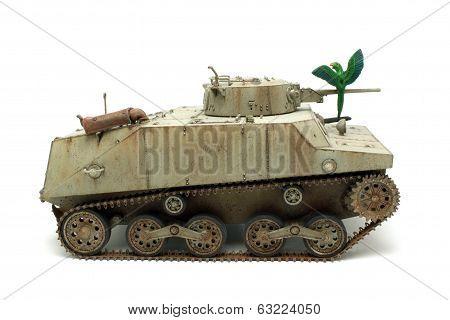 Abandoned Tank Ka-mi