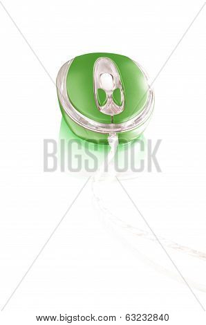 computer mouse isolated on white background