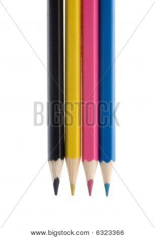 Cmyk Color Pencils