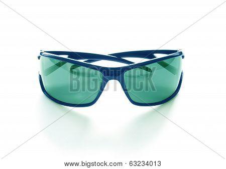 Stylish  sunglasses isolated on white background cutout