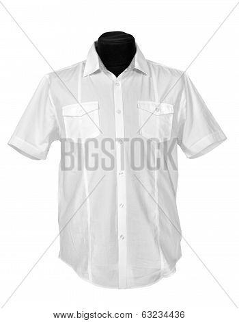 shirt isolated on , the white background