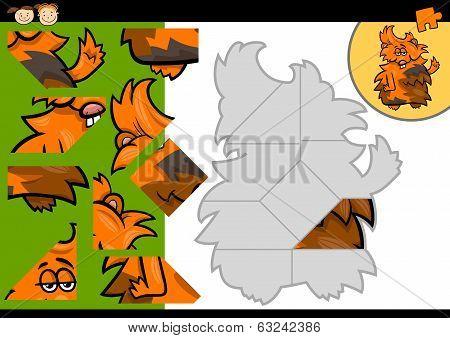 Cartoon Guinea Pig Jigsaw Puzzle Game