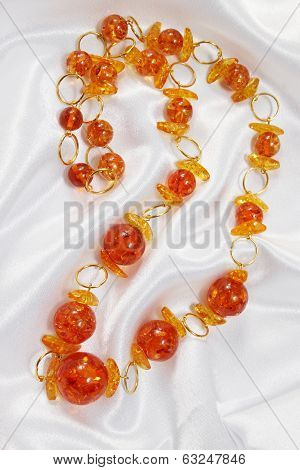 jewelry of amber