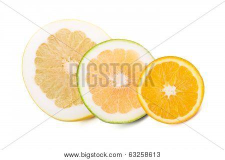 Pomelo, Sweetie And Orange