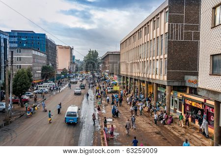 In The Streets Of Addis Ababa
