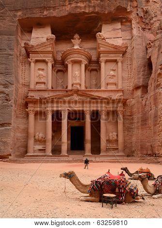 Jordan, Petra. Treasure Trove (treasury)
