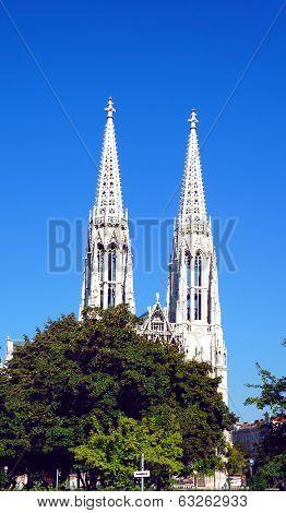 Votive Church details, Vienna