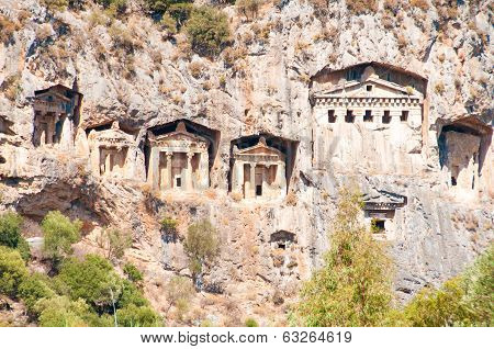 Lycian Tombs  - Landmark Turkey