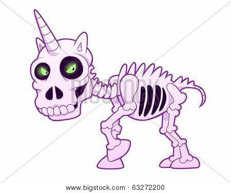 unicorn skeleton