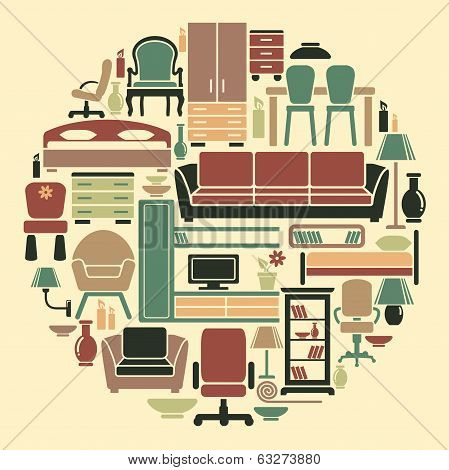 Icons of furniture and interiors