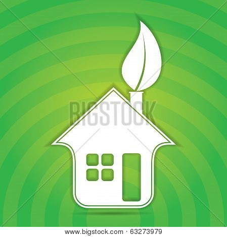 Green House Sign