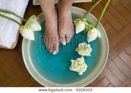 Lotus Flower Aromatherapy Spa For Feet 2