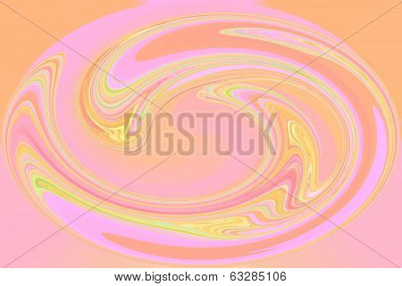 Pink Swirl - Color Background of Abstract Art and Screensaver beauty