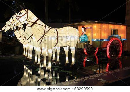 Terracotta Army lanterns