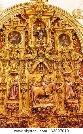 Basilica Altarpiece Cathedral Andalusia Granada Spain