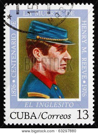 Postage Stamp Cuba 1976 El Inglesito, Henry M. Reeve