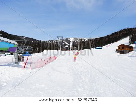 A  Skiing Resort Sheregesh