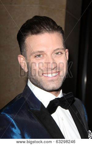 LOS ANGELES - APR 12:  Omar Sharif Jr at the GLAAD Media Awards at Beverly Hilton Hotel on April 12, 2014 in Beverly Hills, CA