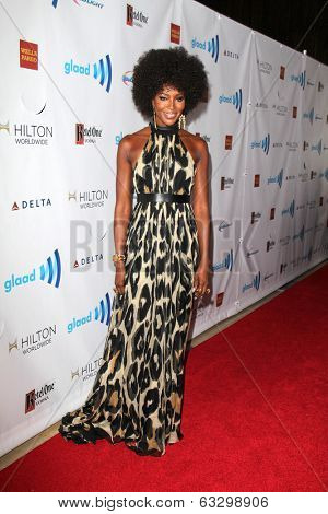 LOS ANGELES - APR 12:  Naomi Campbell at the GLAAD Media Awards at Beverly Hilton Hotel on April 12, 2014 in Beverly Hills, CA