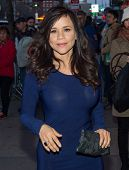 NEW YORK-APR 9: Actress Rosie Perez attends the Lionsgate & Roadside Attractions with The Cinema Soc