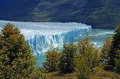 picture of ski boat  - The Perito Moreno Glacier in Patagonia Argentina - JPG