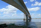 pic of trans  - Construction of a bridge over the Zambezi river - JPG