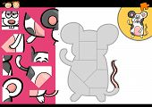 Cartoon Mouse Jigsaw Puzzle Game