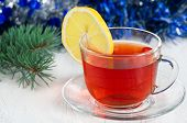 Christmas Tea With Lemon