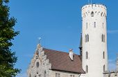 Lichtenstein Castle In Baden-wurttemberg, Germany