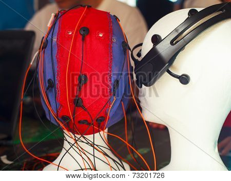 Mannequin Head With Sensor